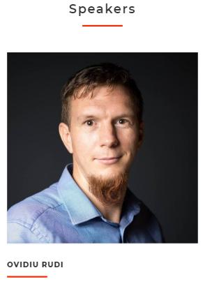 Ovidiu RUDI, Trainer - Invatam Programare, Speaker DevTalksJunior 2018